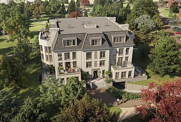 Landgoed in den Houte Parkappartementen Engelse Tuin